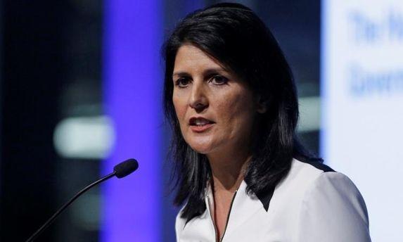 Гейлі заявила про можливий вихід США з Ради ООН із прав людини