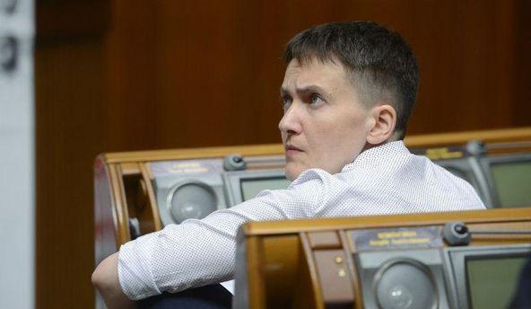 Надія Савченко у Верховній Раді