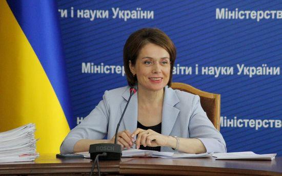 Міністр освіти і науки Лілія Гриневич