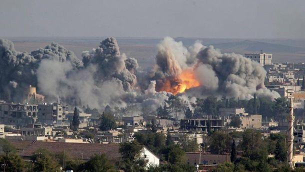 УПентагоні заявляють про удар проти проурядових сил уСирії