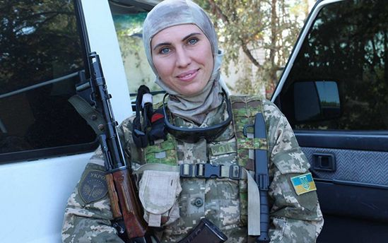 Аміна Окуєва не вважає себе героїнею