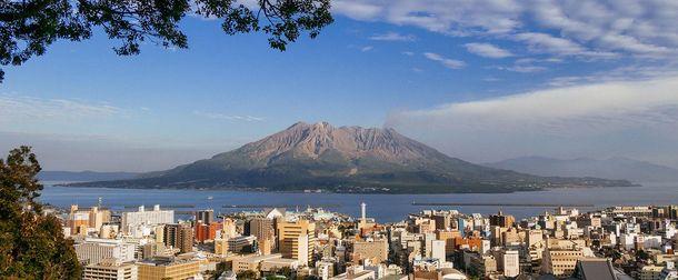 Виверження вулкану в Японії
