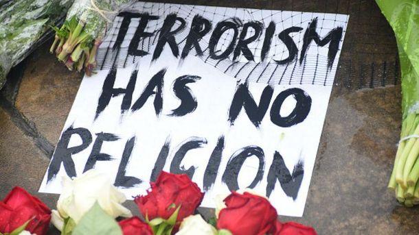 Вшанування жертв теракту в Лондоні