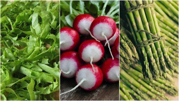 Сезонные продукты в июне