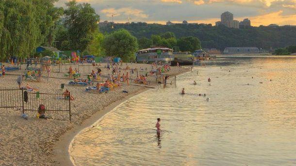 Список пляжів у Києві