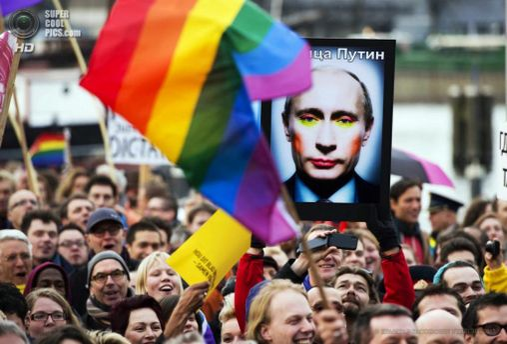 Путин о душе с геем