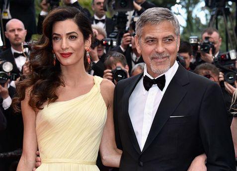 Амаль Клуни и Джордж Клуни