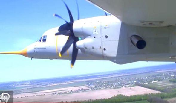 Наша гордість: умережу потрапило видовищне відео польоту новітнього українського Ан-132