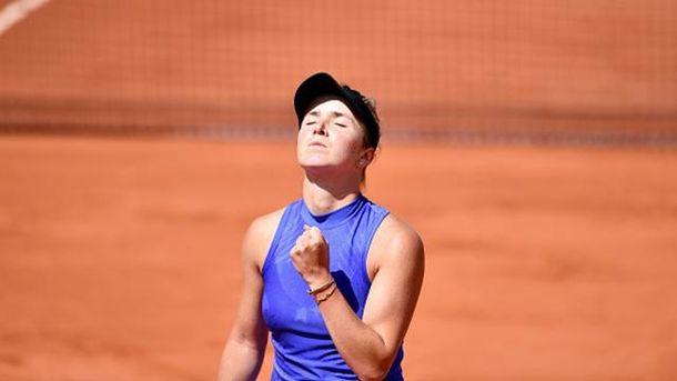 Свитолина уступила на Roland Garros