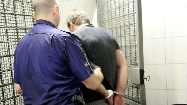 Задержанный за ограбление в Польше