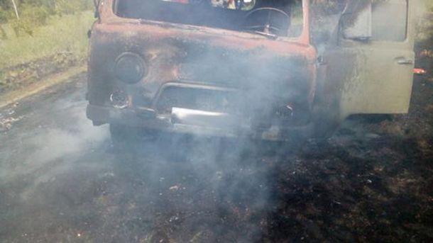 УСумській області поліція зі стріляниною зупиняла автомобіль з ліками і одежею