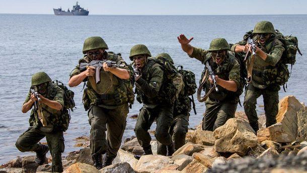 Росія перекинула до Криму морську піхоту з Каспію