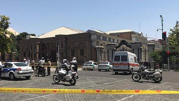 Теракт в Тегеране в здании парламента