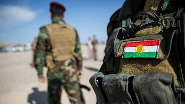 Курдские солдаты