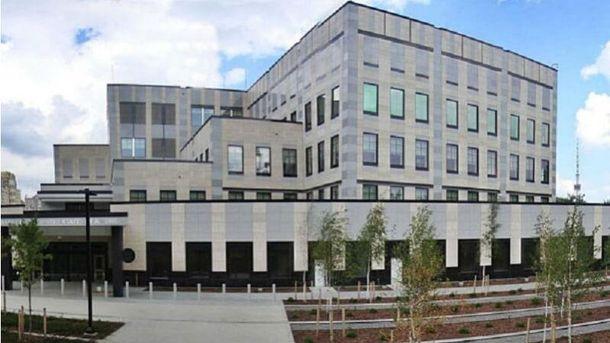 СБУ займеться розслідуванням вибуху натериторії посольства США вКиєві