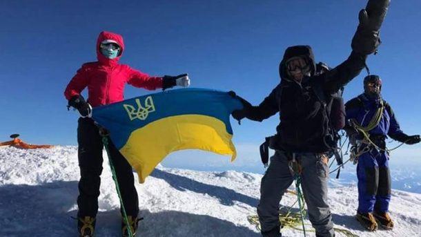 Украинская супружеская пара покорила гору Денали
