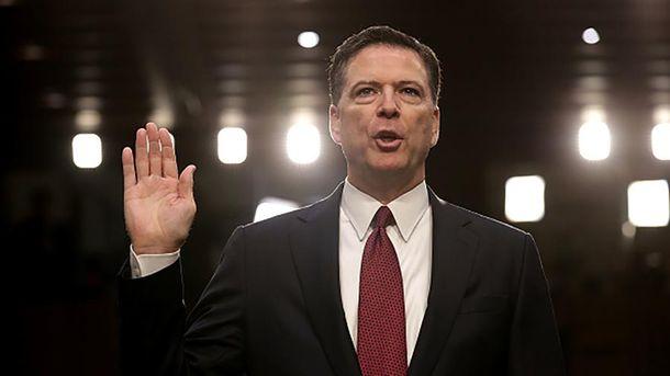 Колишній директор ФБР Джеймс Комі  дав свідчення про Росію