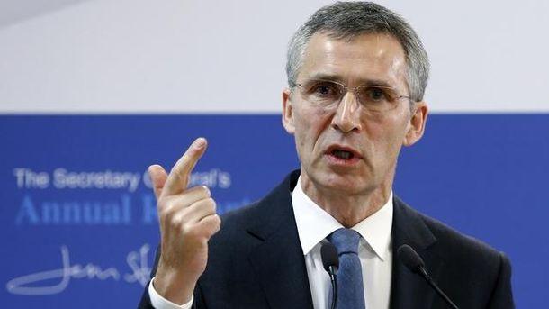 Єнс Столтенберг заявив, що двері НАТО завжди відкриті для України