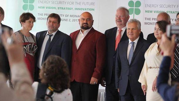 Українська офіційна делегація у Монако