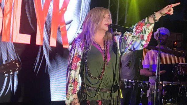 Ірина Білик одягнула вишиванку на концерт в Одесі