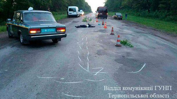 На Тернопольщине произошло смертельное ДТП