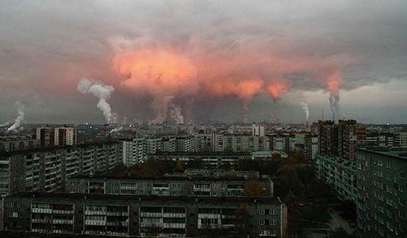 Загрязненность городов