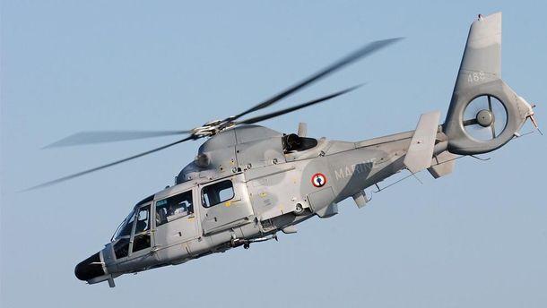 Вертолет Panther ВС Болгарии упал в Черное море