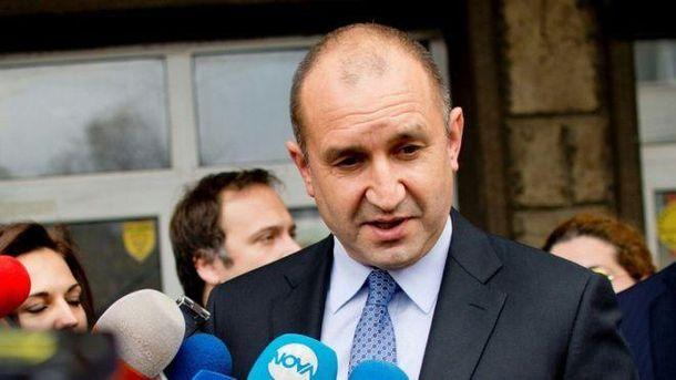 Президент Болгарії хоче зняти санкцій проти Росії