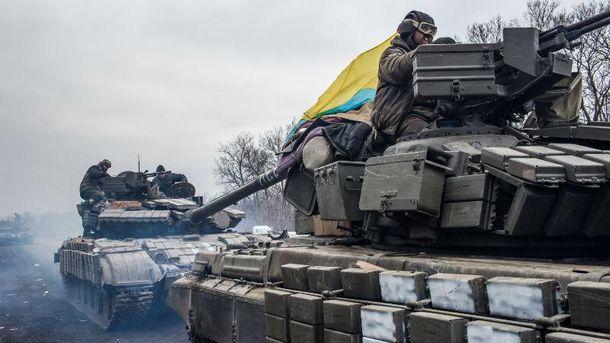 Українські військові в зоні АТО. Авдіївка