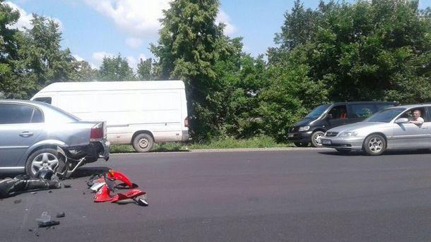 Аварія сталася на на Ленківській трасі у Чернівецькій області