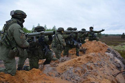 ВЛитве стартовали учения НАТО «Железный волк-2017»