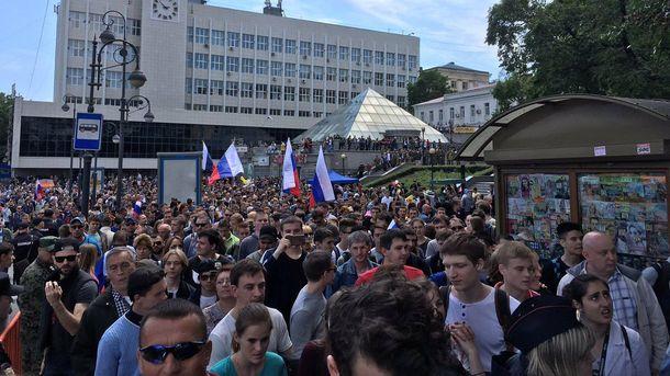 Антикорупційні мітинги у Росії