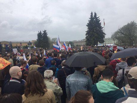 Мітинги в Росії 2017: у Петербурзі понад 150 затриманих