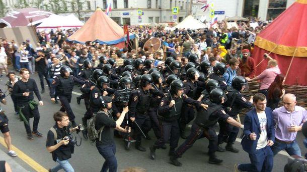 День Росії: у федерації тривають масові антикорупційні мітинги