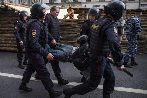 Антикорупційний мітинг в Москві