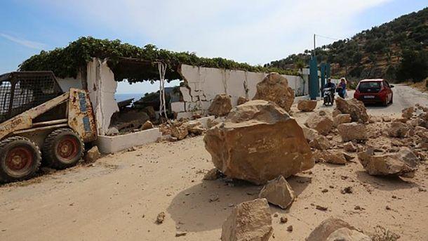 Землетрус вЕгейському морі: 10 поранених