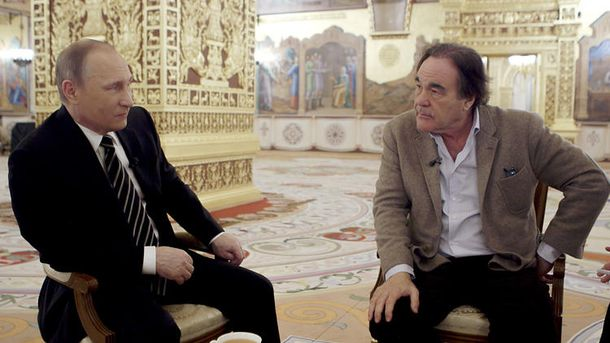 Оливер Стоун взял интервью у Владимира Путина