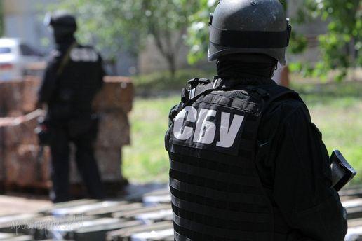 СБУ отстранил сотрудника, который принимал участие в акции под домом антикоррупционера Шабунина