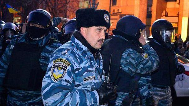 Силовиками напротестах уМоскві керував екс-начальник «Беркуту» Києва