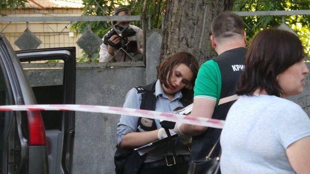 Місце нападу на Адама Осмаєва та Аміну Окуєву