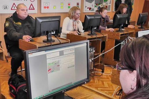 Спонедельника вгосударстве Украина вводятся новые экзаменационные билеты поПДД