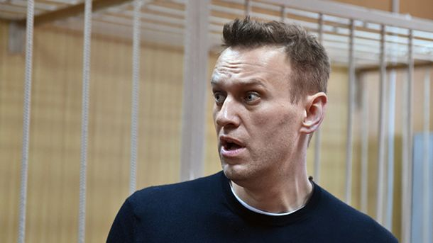 Навальный арестован на 30 дней