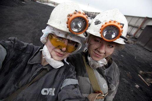 Жінки-шахтарки