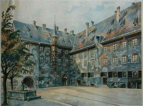 Одна з картин Адольфа Гітлера