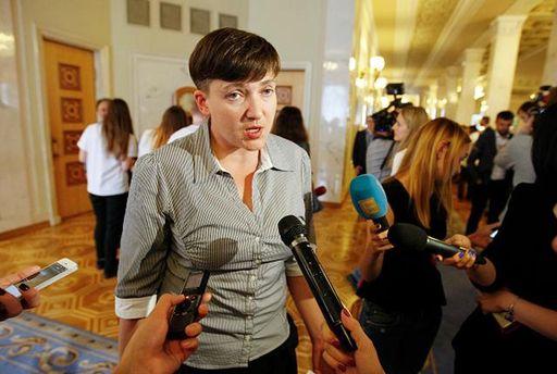 Савченко побувала на суді у