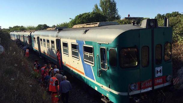 Авария в Италии