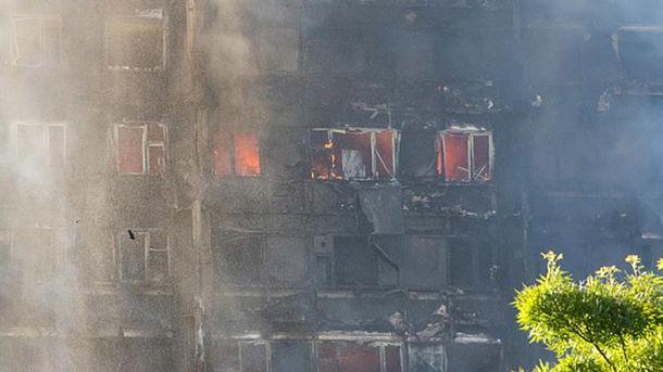 Даних про загибель українців внаслідок пожежі вЛондоні немає - посольство