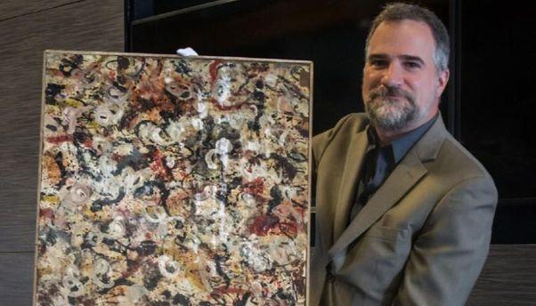 В США нашли потерянную картину Поллока