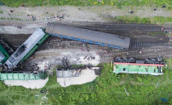 Виновники столкновения поездов на Хмельнитчине наказаны