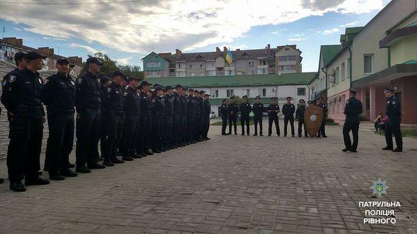 Полицейские Ровно